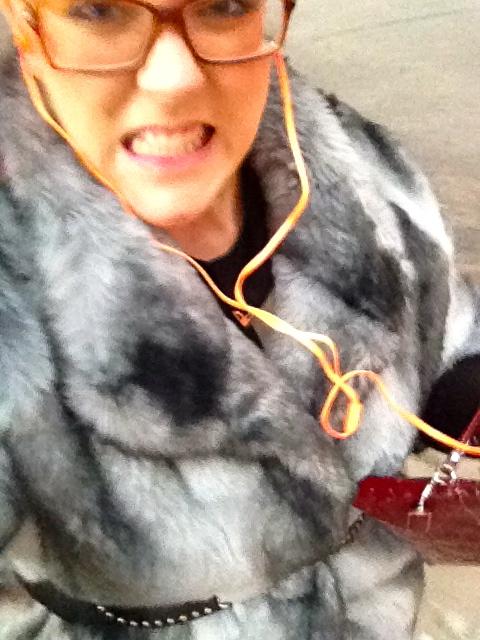 plus size running fur optional