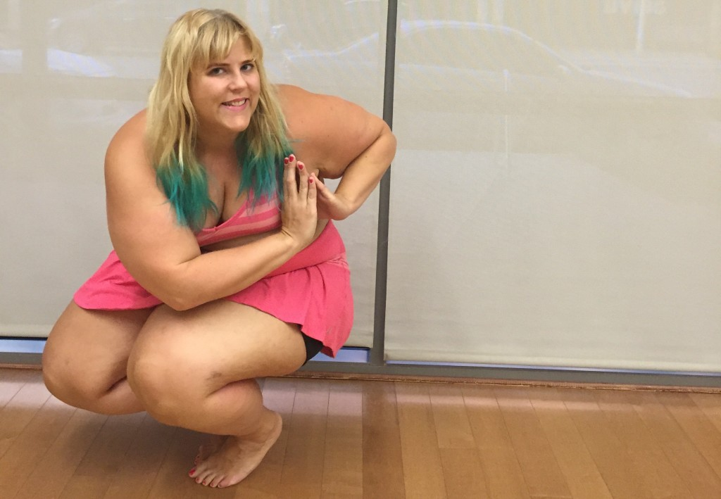 plus size yoga tips soreness