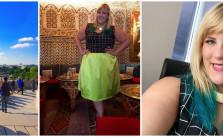 Plus Size Fashion Blog Color Blocking Paris Fashion Plus Size Outfit Inspiration
