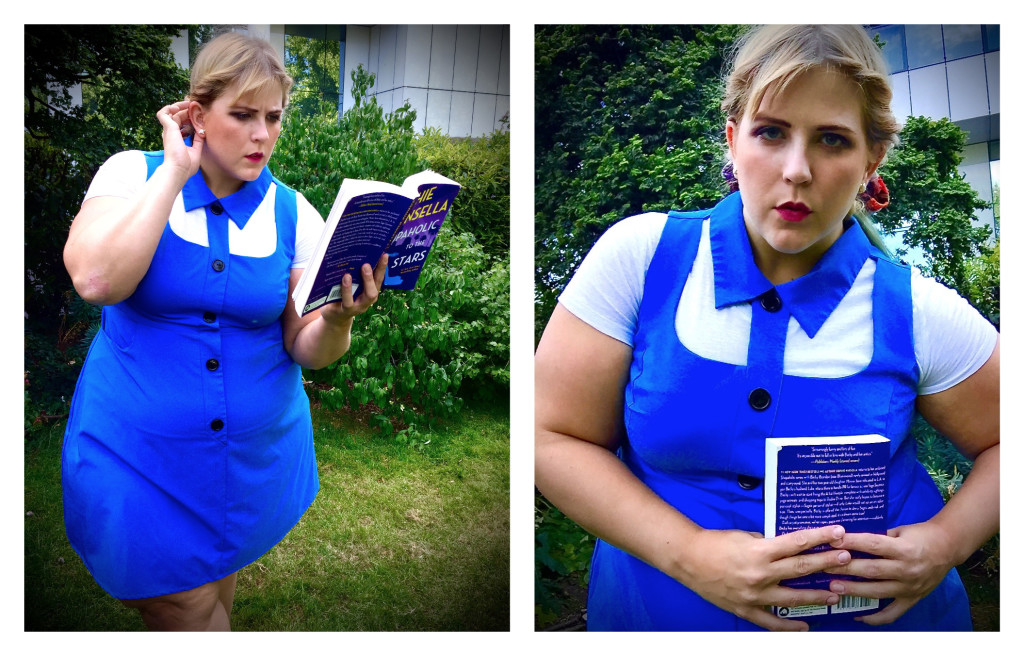 Plus size fashion blog disney inspired outfit Belle Beauty and the beast 6