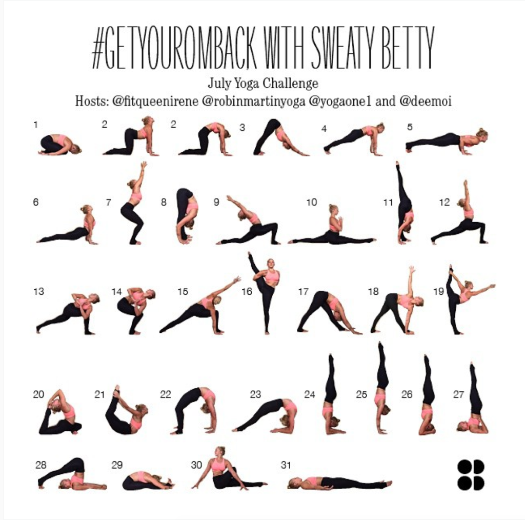 Plus Size Fitness Plus Size Yoga Yoga ChallengesPlus Size Fitness Plus Size Yoga Yoga Challenges #getyouromback with Sweaty Betty