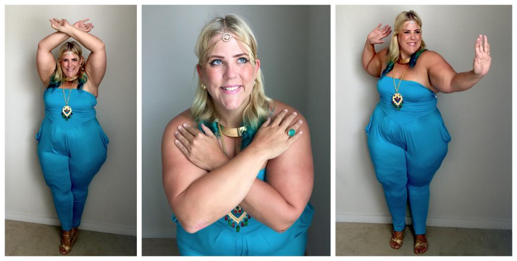 Plus Size fashion blog Disney Princess Jasmin