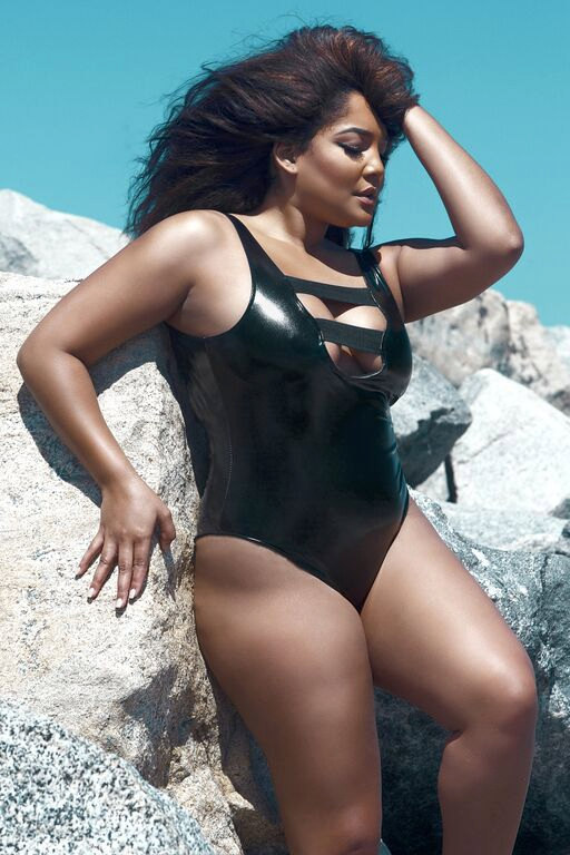 Vicieux Latex One-Piece Swimsuit