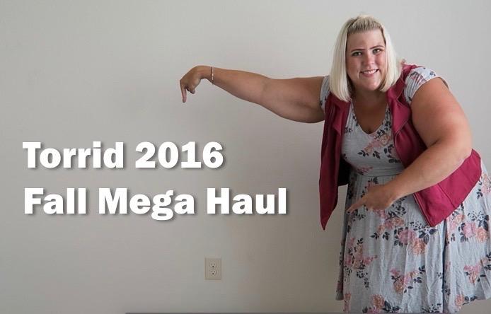 c8d12700f26 Torrid Fall 2016 Plus Size Fashion Mega Haul