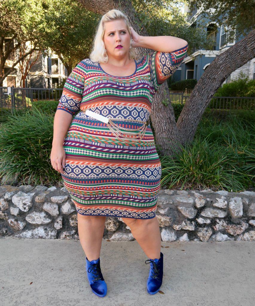 Plus Size sweater dresses | Glitter + Lazers