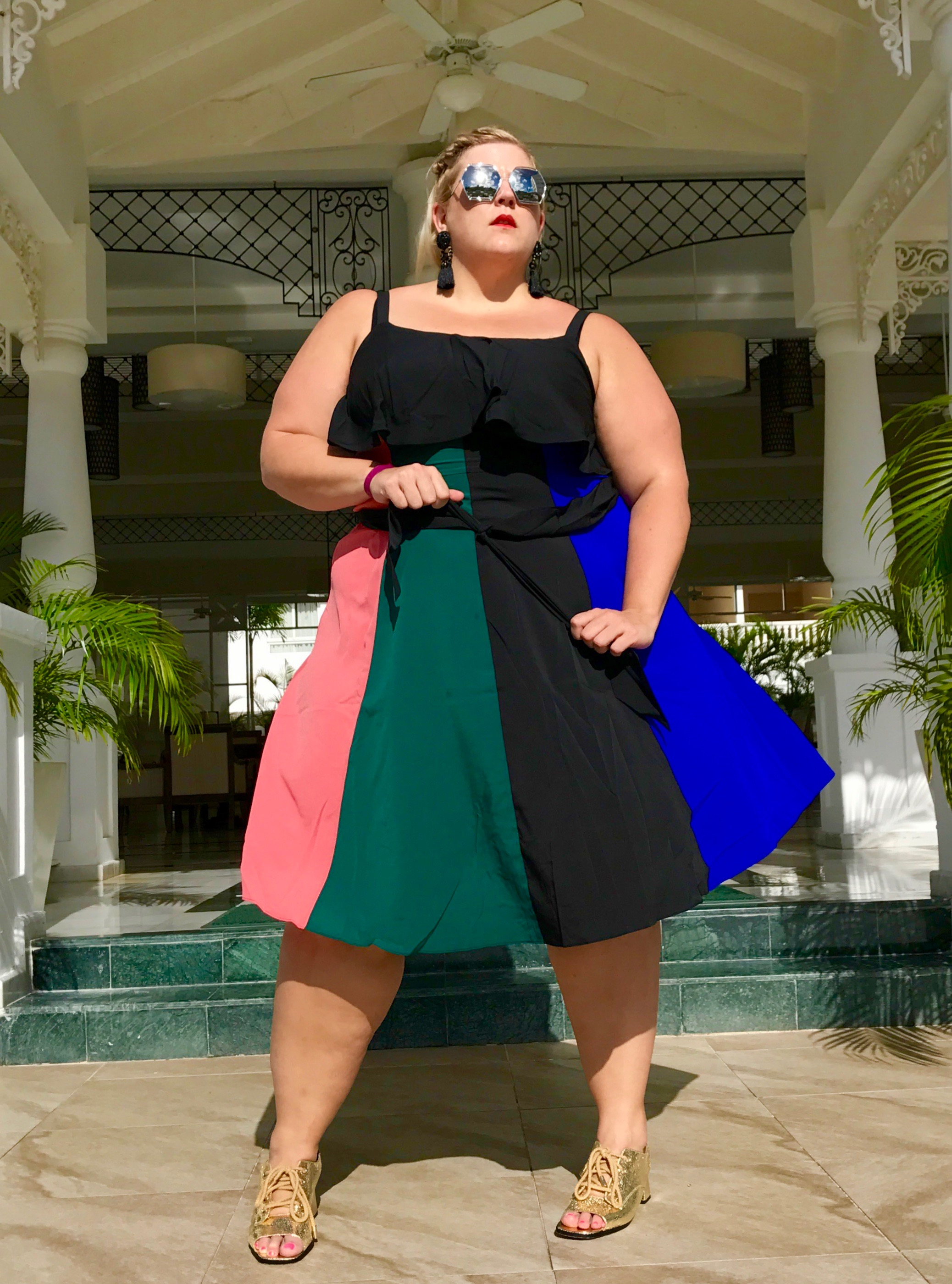 Plus Size Women On Vacation Should Own This Dress