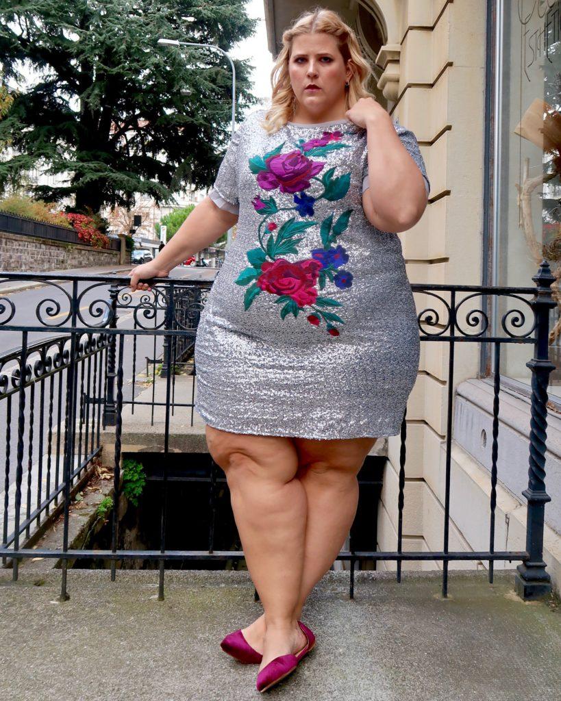 Plus Size formal wear   Glitter + Lazers